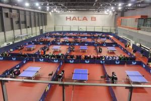 Her er hallen i Bratislava der EM for juniorer ble spilt i med svake norske resultater. (Foto: Lia Btk)