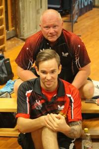 Anders og Jimmy vant viktige dobbelkamper i helgen