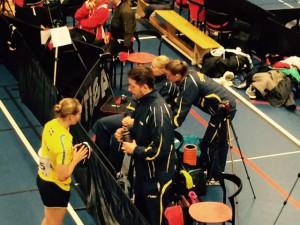 Sverige med Tobias Bergman som lagleder vant alle 7 klassene!