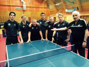Elitelaget vårt som spilte kamper 26.november i Olsvikhallen